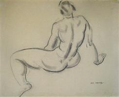 female nude by ian macnab