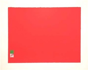 untitled (red) by marc vaux