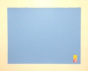 untitled (blue) by marc vaux
