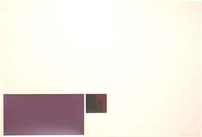 untitled - purple/red by marc vaux