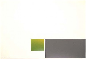 untitled - green/grey by marc vaux