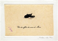 un des effets des eaux de mier (from eighteen small prints) by richard hamilton