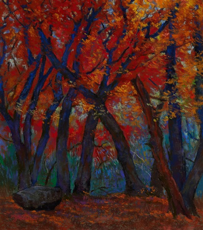 red maples lost maple park by michael etie