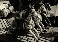 carousel horses by vaclav chochola