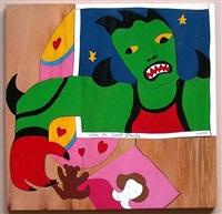 mechant-mechant puzzle by niki de saint phalle