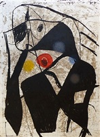 la commedia dell'arte ii by joan miró