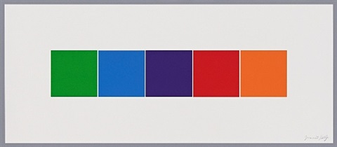 color squares 4 by ellsworth kelly