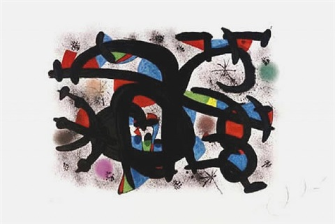le calin catalan by joan miró