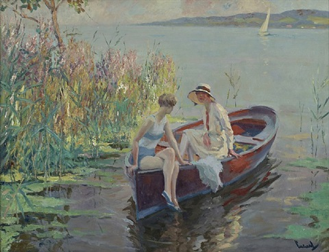 summer reflection by edward cucuel