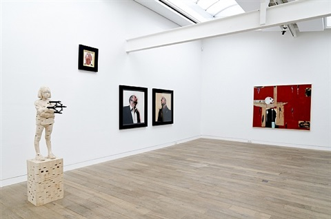 installation view beck & eggeling 2012
