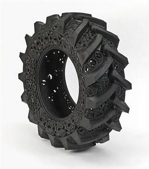 untitled (truck tyre # 1) by wim delvoye