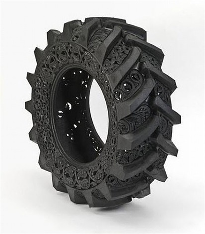 untitled (truck tyre # 1) by wim delvoye