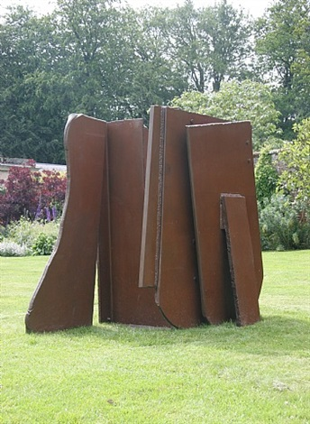 fossil flats by anthony caro