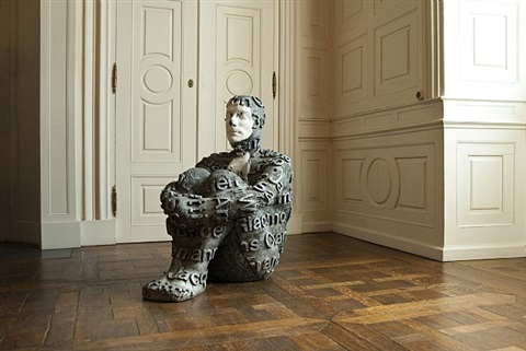 john cage by jaume plensa