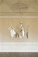 silhouettes (study) by jaume plensa