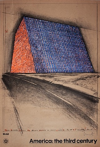 texas mastaba, stacked oil barrels by christo and jeanne-claude