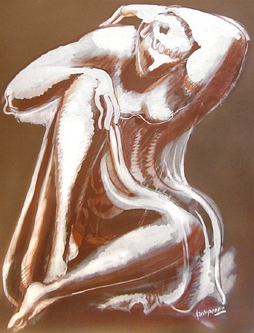 untitled by alexander archipenko
