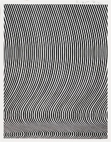 from fragment-signed by bridget riley