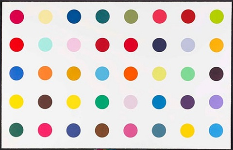 methyl-phenylsulfoxide by damien hirst
