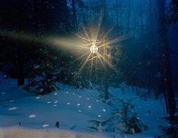 a disco ball on the mountain by adam ekberg