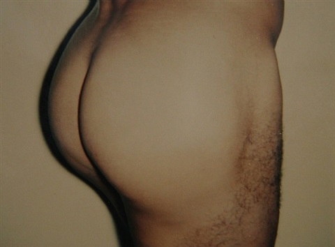 nude model (male) by andy warhol