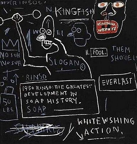 rinso. set i by jean-michel basquiat