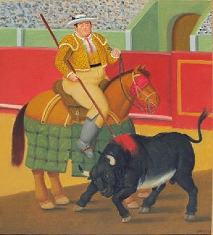 el piccador by fernando botero