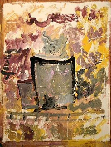 coffee cup by purvis young