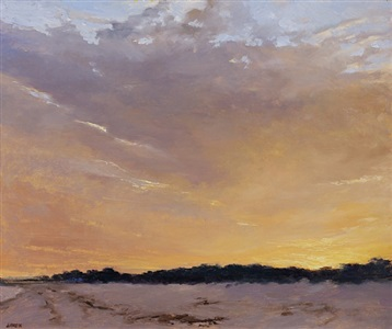 afterglow (sold) by sandy garvin