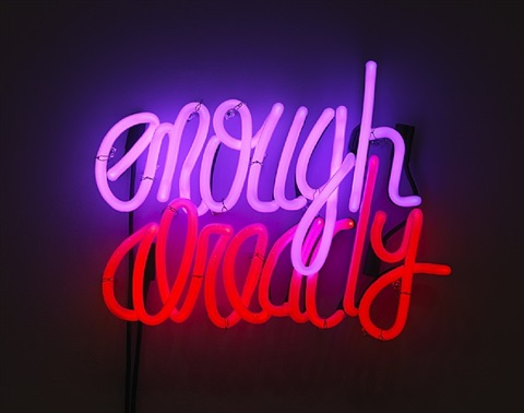 enough already by deborah kass