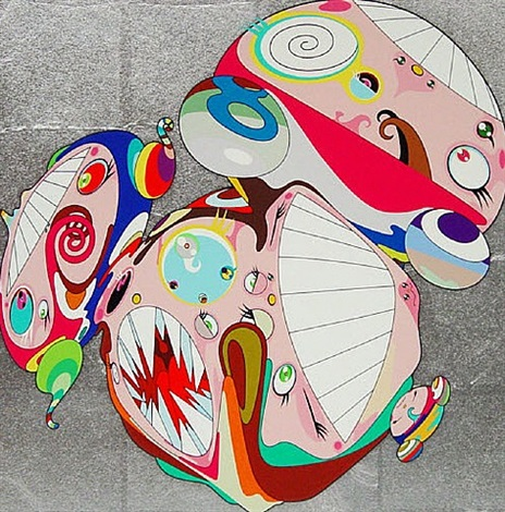 melting dob e by takashi murakami