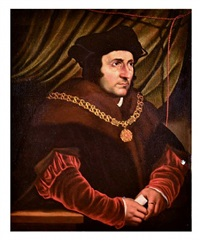 portrait of sir thomas more by hans holbein the younger