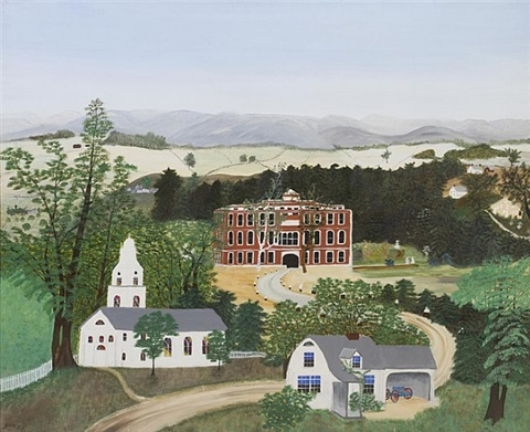 the hospital by grandma moses