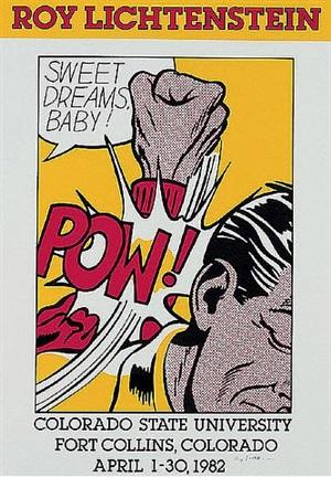 sweet dreams baby by roy lichtenstein