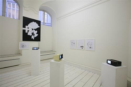 installation view galerie krinzinger by franz graf