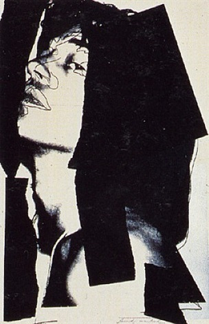 mick jagger by andy warhol