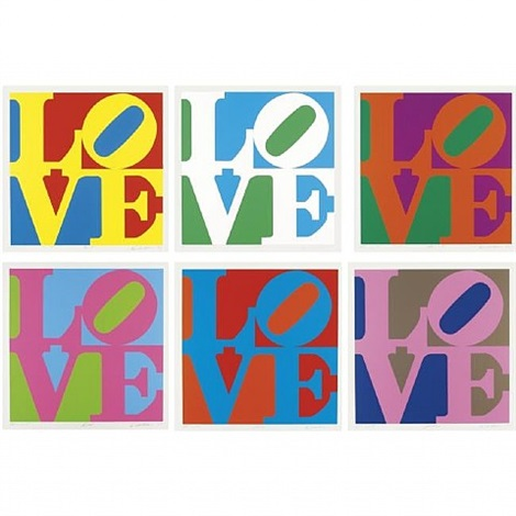 the garden of love by robert indiana