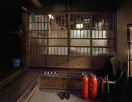 "hongo, hongokan apartment, 6-20-3, bunkyo-ku, tokyo, from the series ""machi"" (town), by yutaka takanashi"