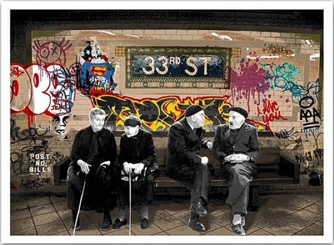 33rd st. by mr. brainwash