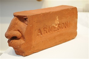 face brick by robert arneson