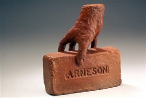 hand brick by robert arneson