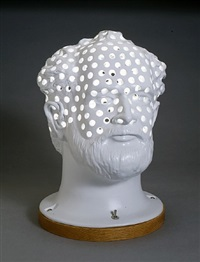 head lamp by robert arneson