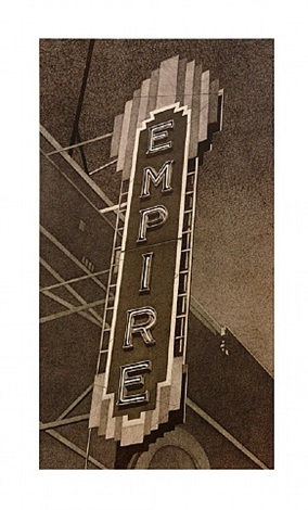 empire (vertical) by robert cottingham
