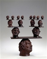 model for 15 heads balancing by robert arneson