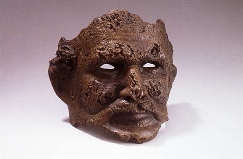 fragment mask by robert arneson