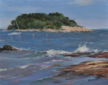 surf and tuxis island (sold) by karen blackwood