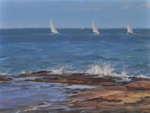 sails and surf by karen blackwood