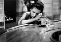 bar girl in a brothel in the red light district, havana, cuba by eve arnold