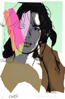 mick jagger (ii.140) by andy warhol
