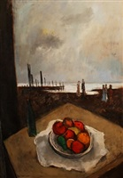 fruits and beach by sol wilson